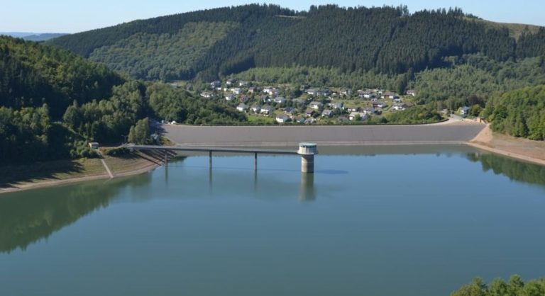 Obernau Dam, Germany