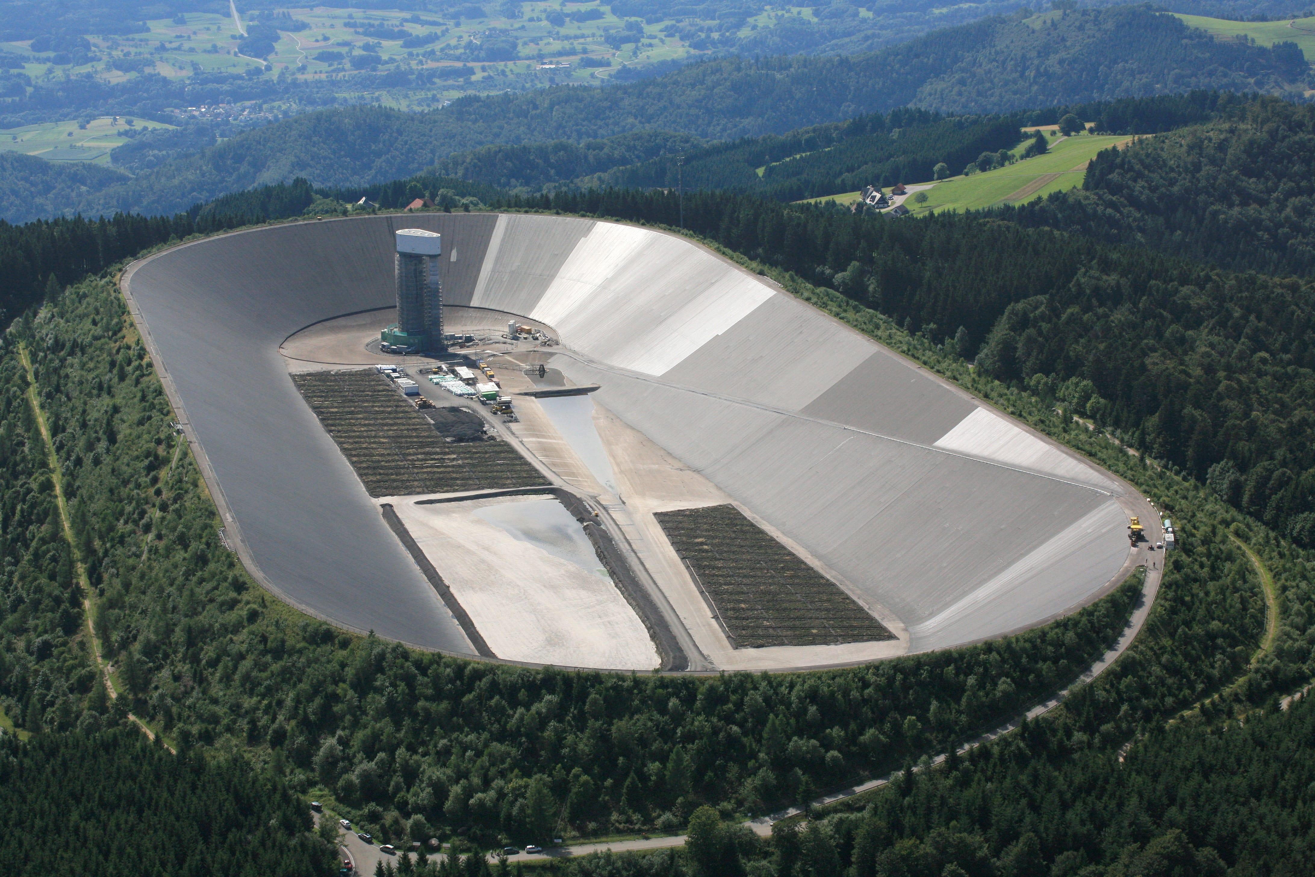 Hornberg Reservoir, Germany